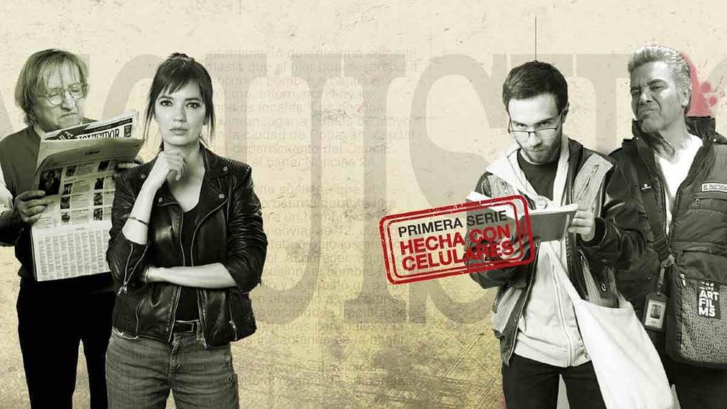 Poster El Inquisidor, serie hecha con celulares