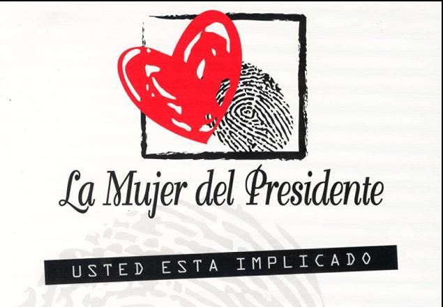 Logo de la serie La Mujer del Presidente